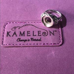 Kameleon - Size 5 - Sterling Silver Ring